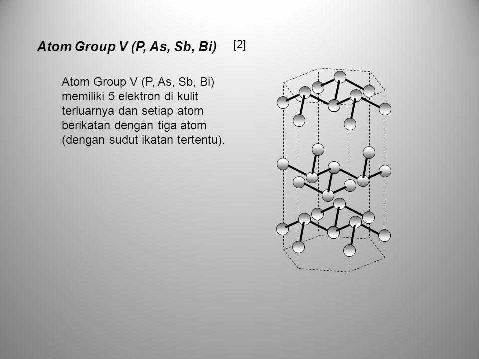 Atom Group V (P, As, Sb, Bi) [2]